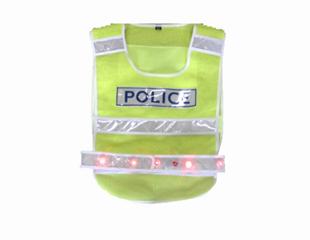 08款警察反光背心(LED)