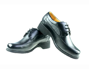 警察女皮鞋