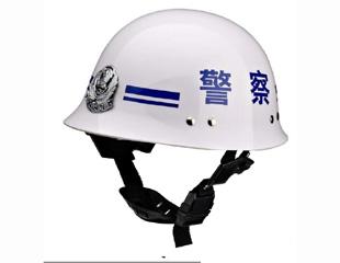 警察勤务头盔(白色)