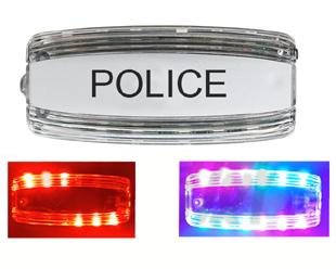 新款警察肩灯