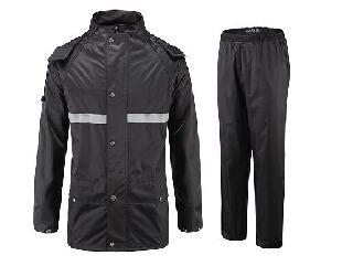 贝斯特全球最奢华716分体式雨衣(黑色)