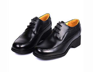 警察男皮鞋
